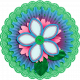 March 2021 Blog Train: Accordion Flower 04