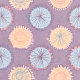 May 2021 Blog Train: Spring Flowers Patterned Paper Circles 01