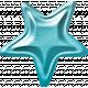 June 2021 Blog Train: Summertime Button 04, Star