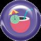 June 2021 Blog Train: Summertime Button 01c, Drink 2