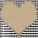 Cardboard Heart Kraft