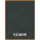 "Back To School: 3""X4"" Pocket Card, Chalkboard, Black, Senior"