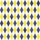 Back To School: Paper, Pattern Plaid 04 Blue & Yellow