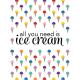 Ice Cream Journal Card 05 3x4