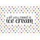 Ice Cream Journal Card 05 4x6