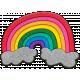 Rainbow1 Felt