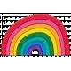 Rainbow2 Felt