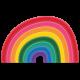 Rainbow2 Rubber