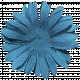 Blue Skies Flower Blue