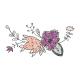Wildflower Glitter Bouquet