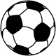 Sports Print Soccer Ball