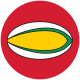 Sports Print Circle Rugby