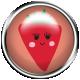Cute Fruits Flair Strawberry
