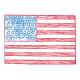Public Discourse Pocket Card 4x6 Flag