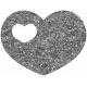 Gb2 Heart Glitter Template