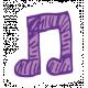 Art School Music Doodle Music Note 6