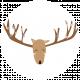 Oh Deer Print Circle 02