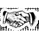 Tangible Hope Sticker Handshake