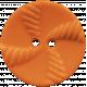 Tangible Hope Button Orange