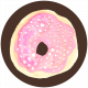 Donut Worry Circle 01