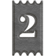 Spring Day Ticket Number 2 Leather Template