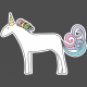 Unicorn Tea Party Print Kit- Unicorn