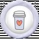 Unicorn Tea Party Element- Flair Tea Cup
