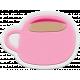 Unicorn Tea Party Element- Rubber Tea Cup 1b