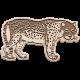 Kenya Elements wood leopard