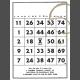Scraps Print Kit 001 bingo print