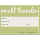 World Traveler Elements Kit - Baggage Claim Ticket
