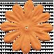 Baby Baby Flower Orange