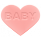 Baby Baby Rubber Heart