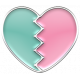 Enamel Pieces Kit 1 - Broken Heart 02