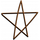 Scraps Bundle 4 Elements- Wooden Star