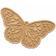 Seriously Butterflies Elements- Wood Butterfly 10