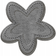 Grab Bag #9- Flower 5 Leather Template