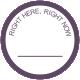 Pumpkin Spice Print Kit- Purple Circle Tag