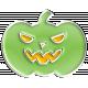 Halloween Enamel Pin- Pumpkin 1