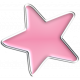 Halloween Enamel Pin - Pink Star