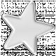 Halloween Enamel Pin - White Star
