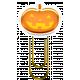 Halloween Clip- Pumpkin