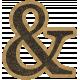 HFH Cardboard Sticker - Ampersand
