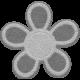 Flower Set 01b - Felt