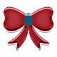 Home For The Holidays Elements - Sticker Bow