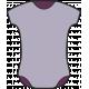 New Day Baby Elements Kit- Print Onesie Purple