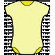 New Day Baby Elements Kit- Print Onesie Yellow