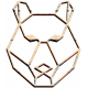 Tea & Toast Elements Kit- Wood Bear Face