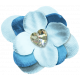 Love Knows No Borders- Flower Blue 2
