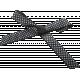 Fresh Elements Kit- Bow Black & White Polka Dot